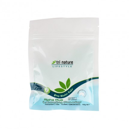 Alpha Plus Laundry Powder 100g Sample