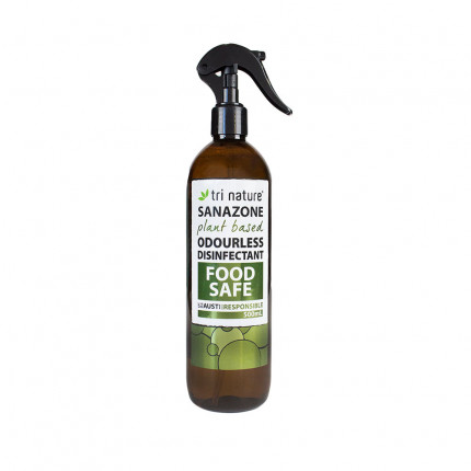 Sanazone Odourless Disinfectant 500ml - Food Safe