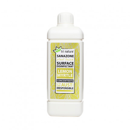 Sanazone Lemon Myrtle Disinfectant Concentrate